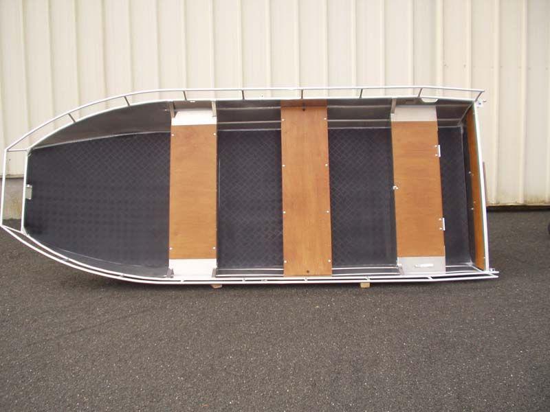 Aluminiumboot versenkbarer Bank (1)