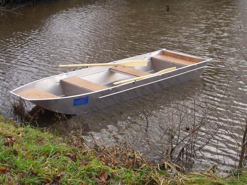 Aluminiumboot versenkbarer Bank (2)
