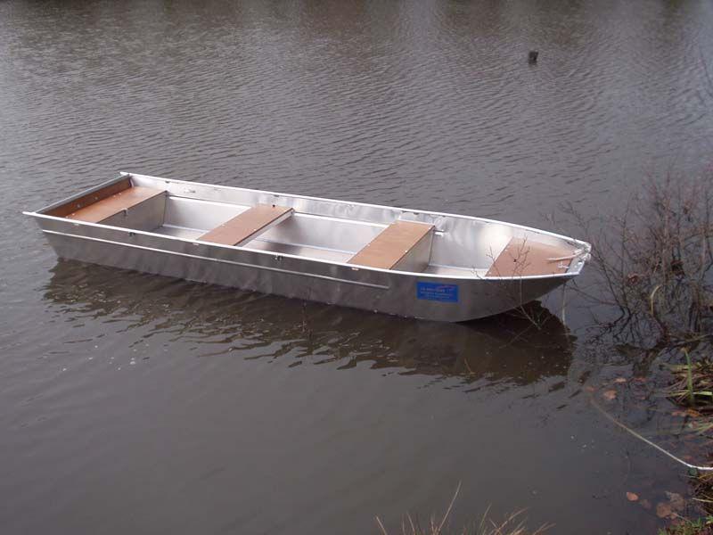 Aluminiumboot versenkbarer Bank (3)