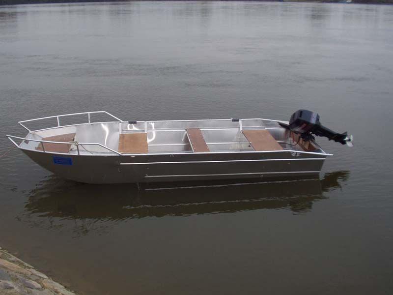 Aluminiumboot versenkbarer Bank (5)