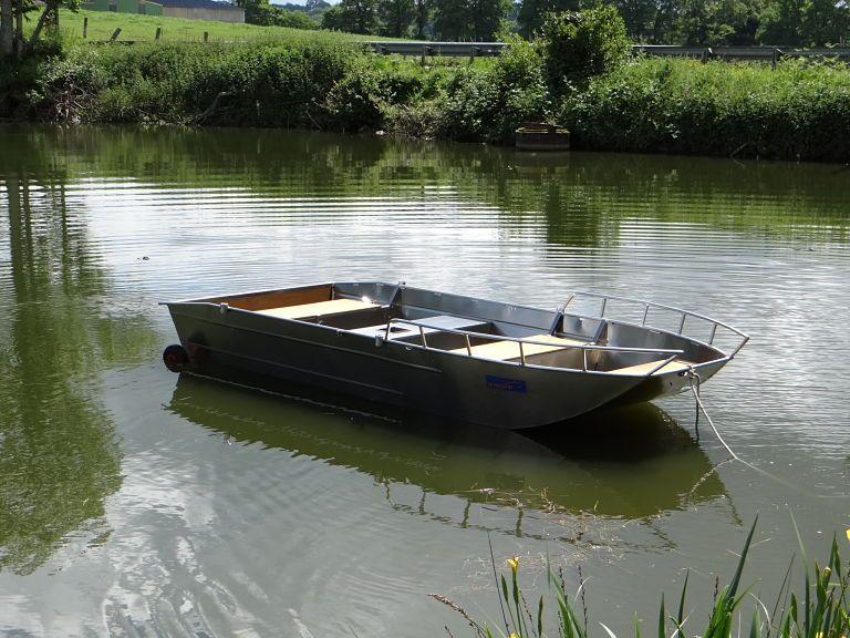 Fischerboot aus Aluminium (1)
