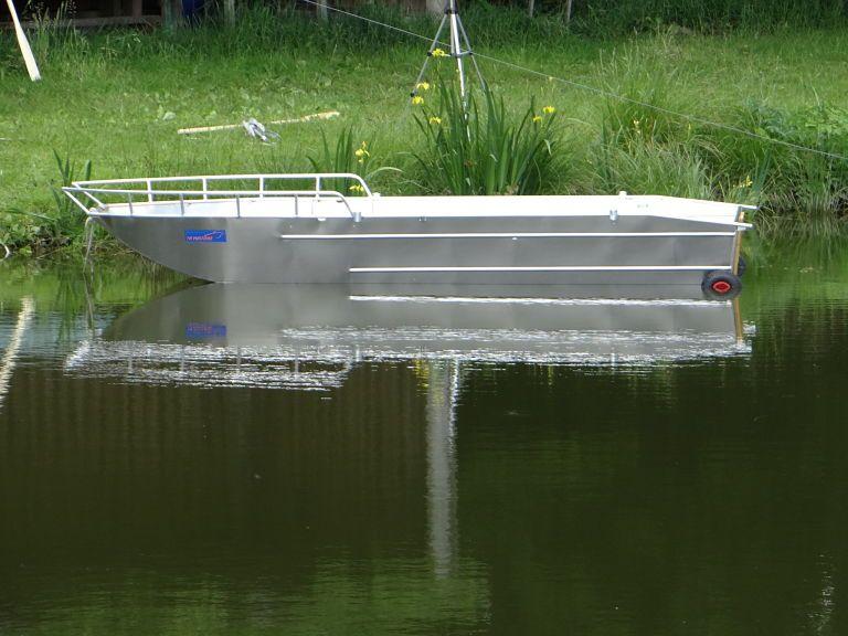 Fischerboot aus Aluminium (15)
