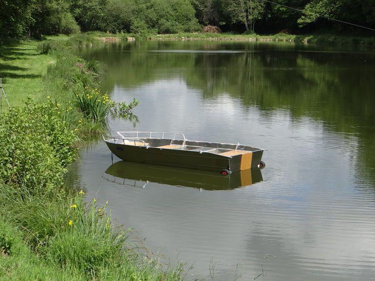 Fischerboot aus Aluminium (16)