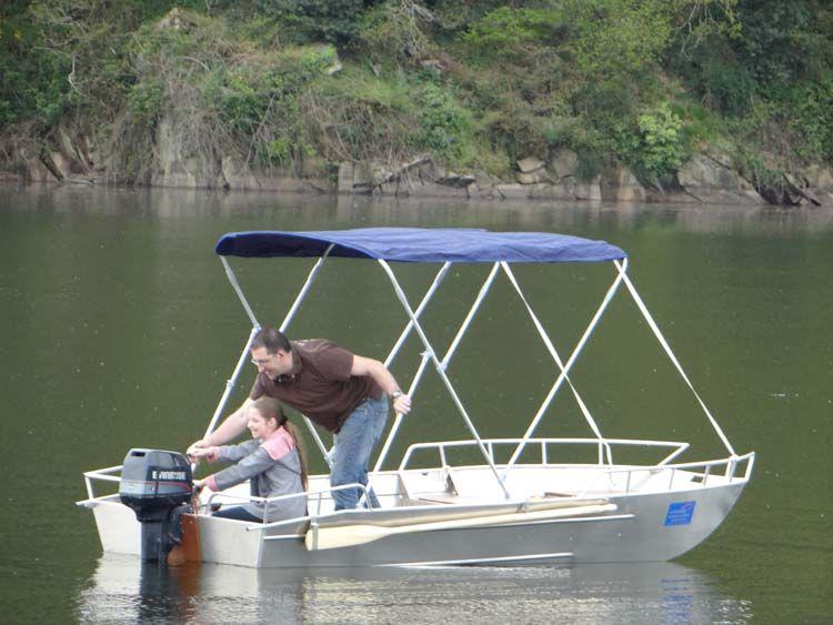 Aluminium Boot - Fischerboot  (1)