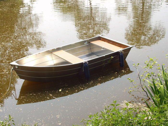 Aluminium Boot - Fischerboot  (2)