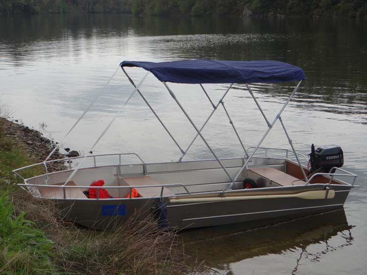 Aluminium Boot - Fischerboot  (5)