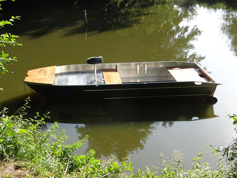 Aluminium Fischerboot (1)