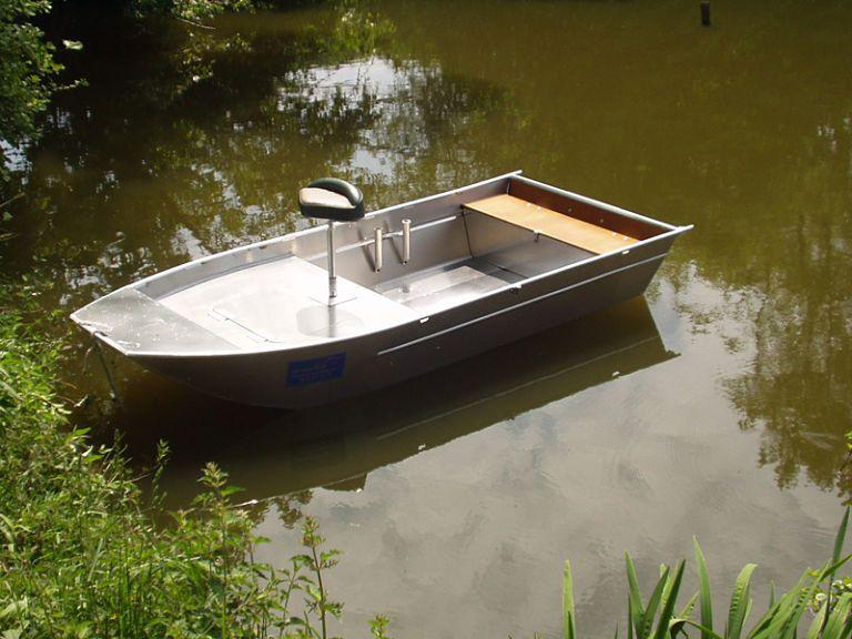 Aluminium Fischerboot (103)