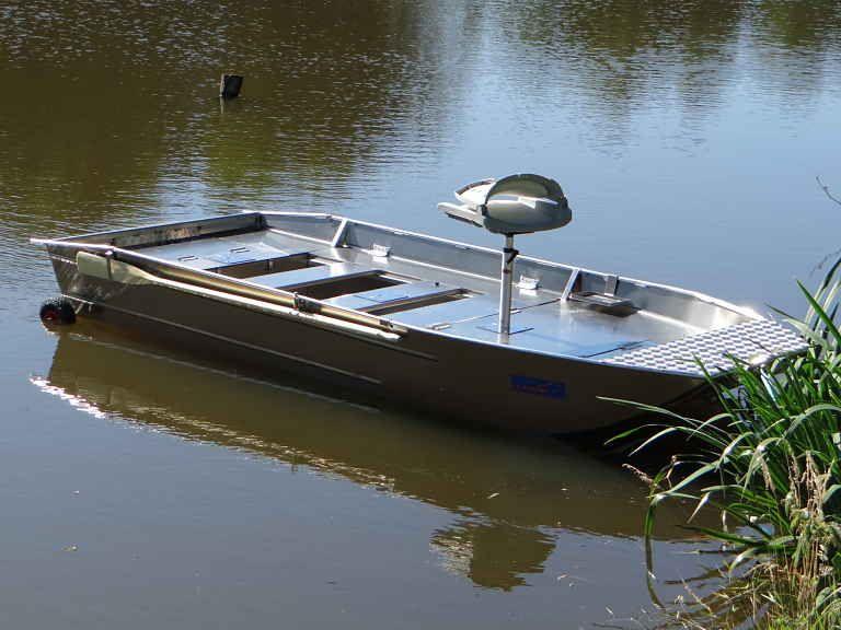 Aluminium Fischerboot (16)