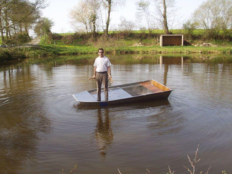 Aluminium Fischerboot (2)