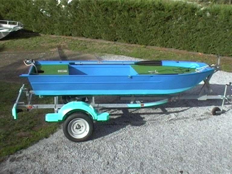 Aluminium Fischerboot (20)