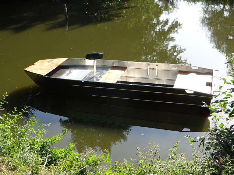Aluminium Fischerboot (60)