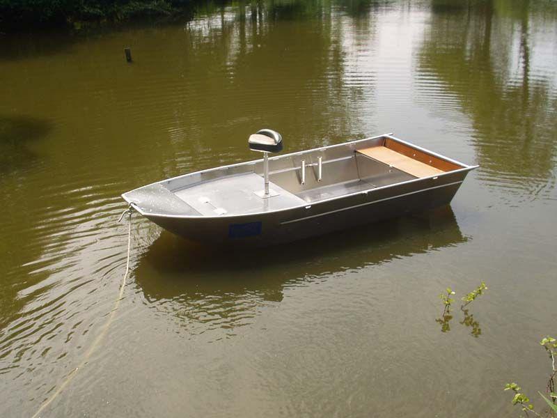 Aluminium Fischerboot (92)
