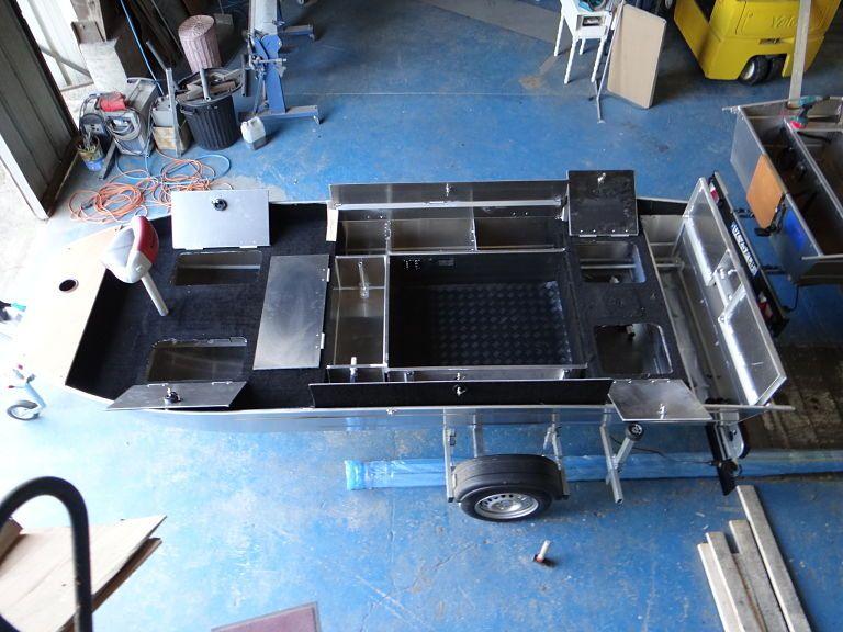 Aluminium Fischerboot (99)