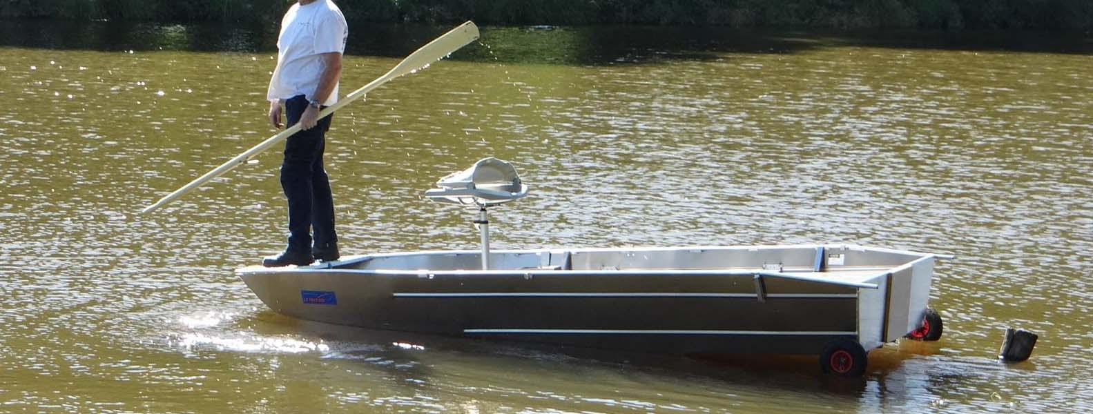 Fischerboot-Aluminium