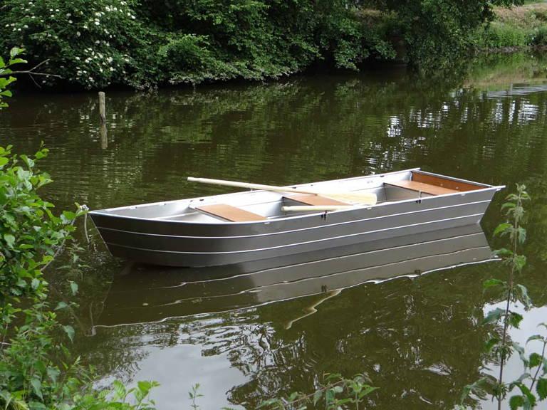 geschweißte Aluminiumboote