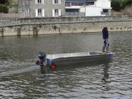 Fischerei barke