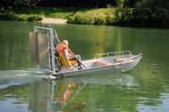 Handwerksfabrik für Fischerboote
