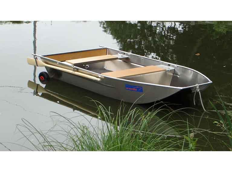 Leichtes Aluminium-Angelboot