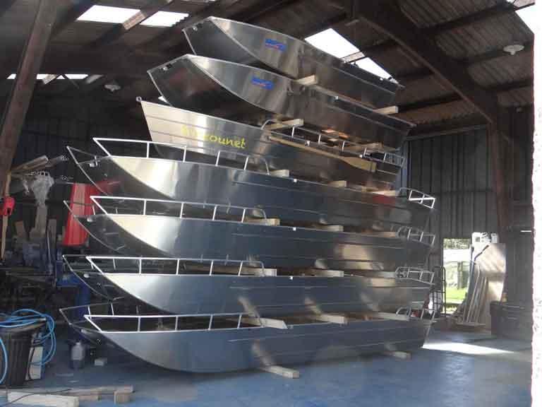 Leichtes Aluminium-Boot